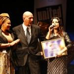 Mietta riceve la nomina di ambasciatrice per i Diritti Umani